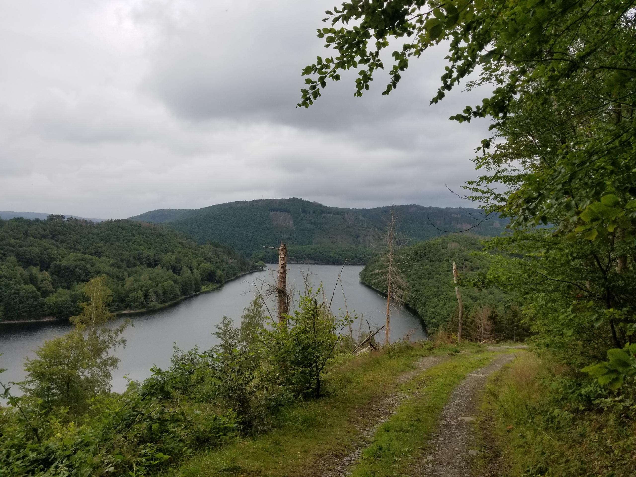 Ruhrsee near Einruhr