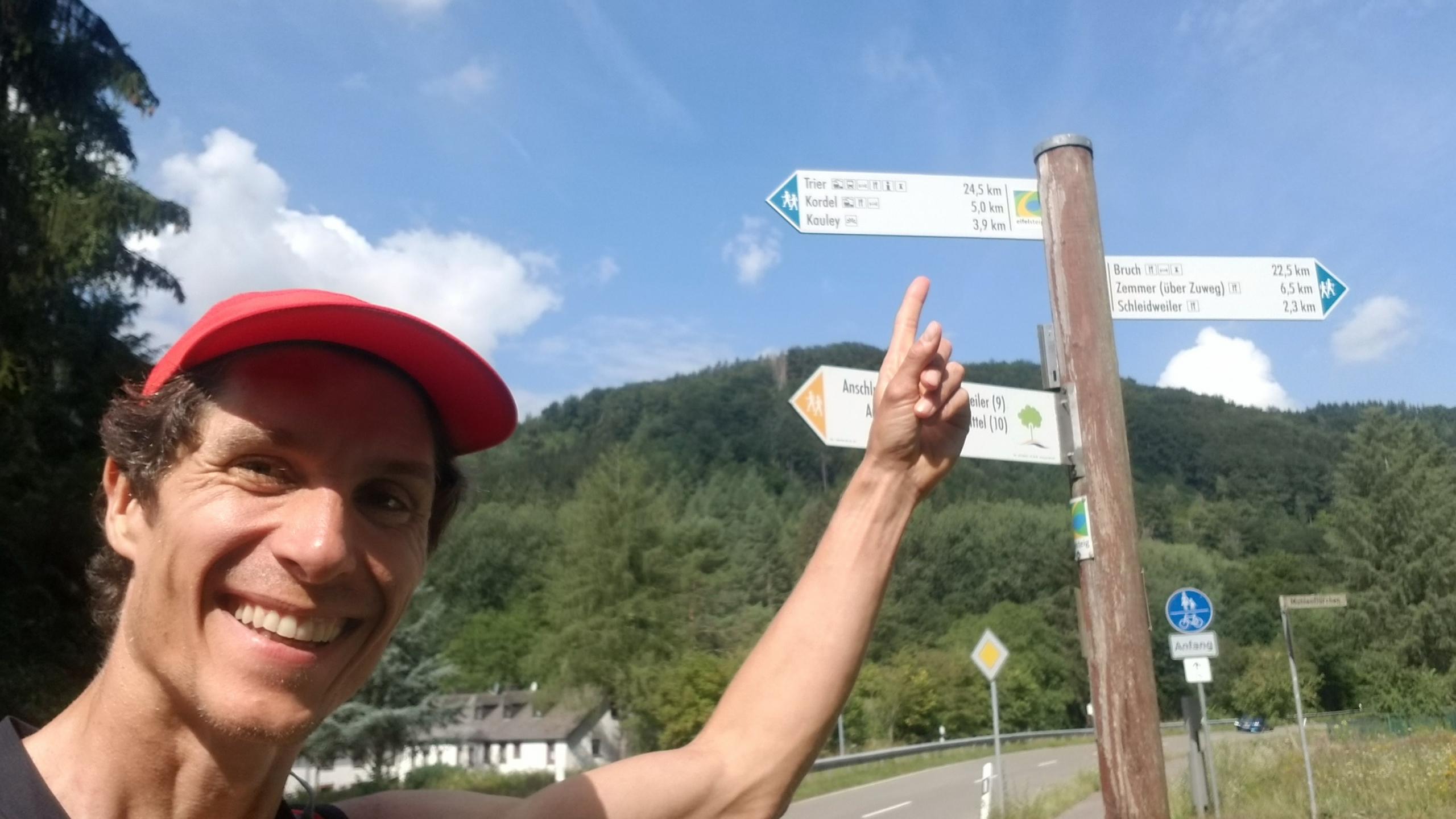 24,5 kilometres to Trier